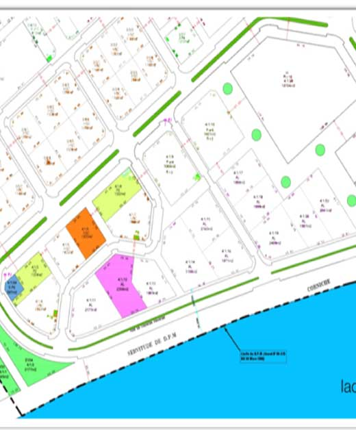 Terrain Habitat Semi-Collectif (HSC) Cité des Pins Lac II Zone VI_Lot 4.1.6