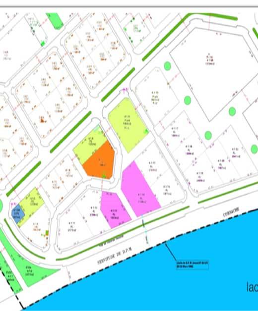 Terrain Habitat Semi-Collectif (HSC) Cité des Pins Lac II Zone VI_Lot 4.1.7