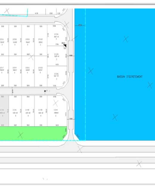 Terrain Zone Industrielle Khéreddine  Le Kram_Lot 1.1.39 I