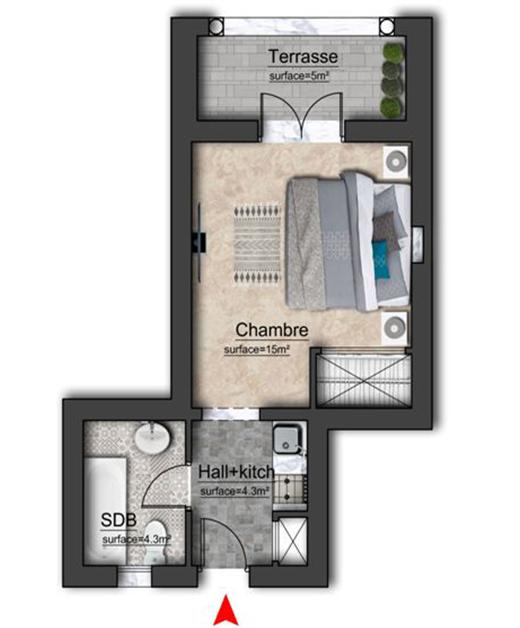 الشقة كنزة 57