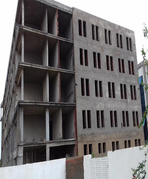 Immeuble non achevé