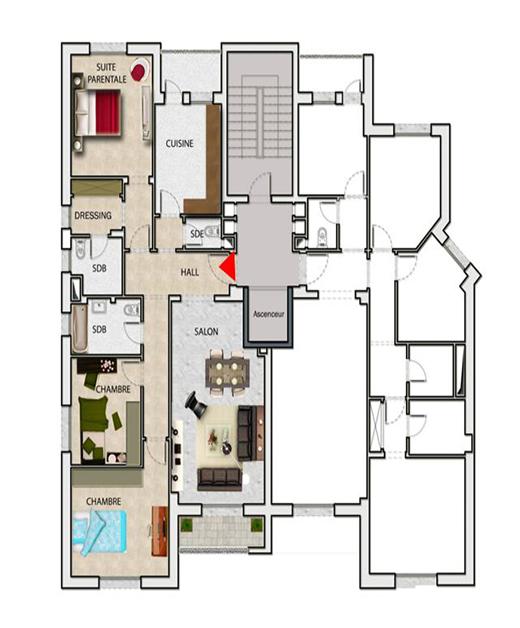 Appartement «La Lune 10»