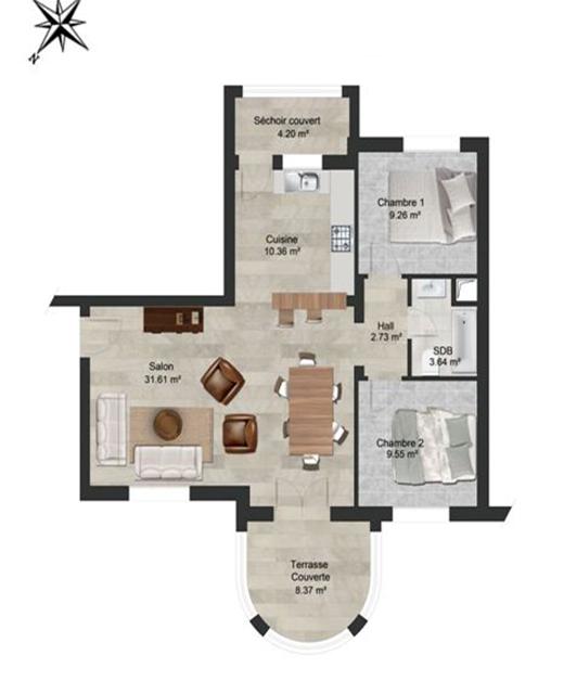 الشقة الجنان 34