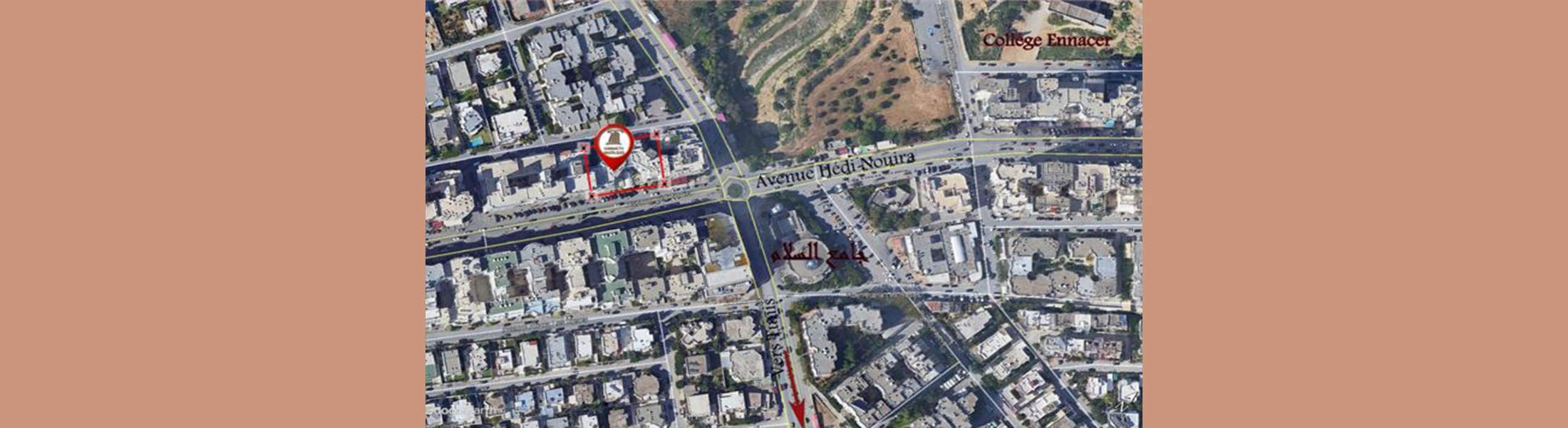 الشقة الفة 2 - حي النصر 2 - اريانة (طلب العروض عدد 01 لسنة 2021)