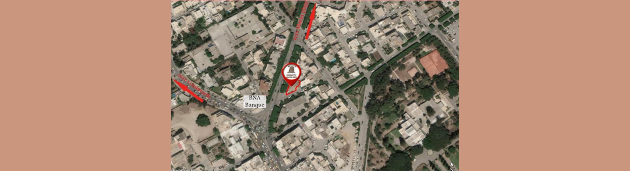 المقسم الصادقية 1 كائن بمدينة المرسى - تونس (طلب العروض عدد 07 لسنة 2020)