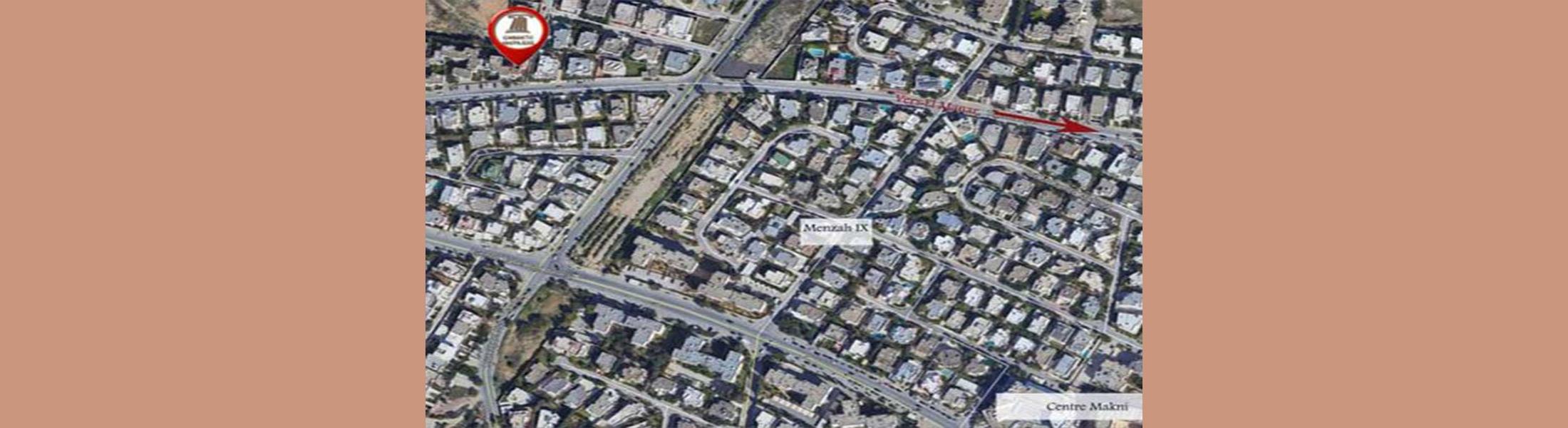 Appartement Les Jasmins 250 - Tunis (Appel d'Offres N°06/2021)
