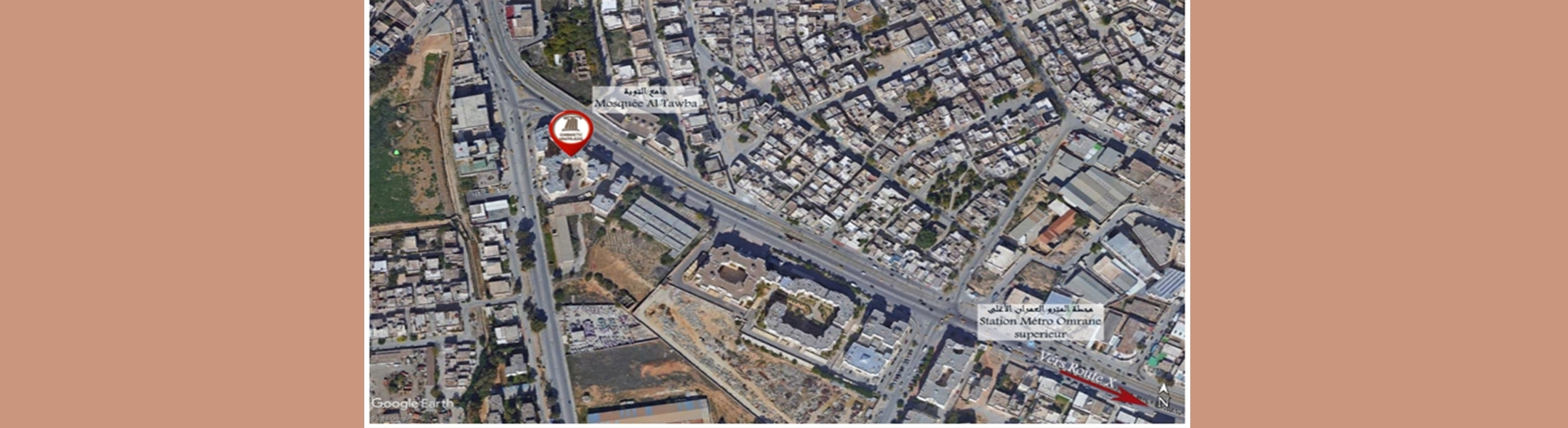الشقة زروق 01 - حي التحرير
