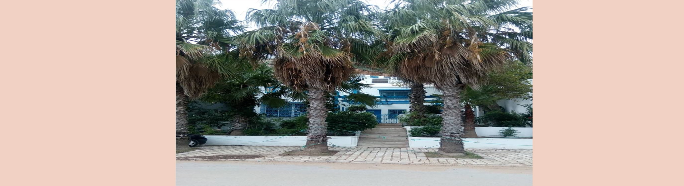 (01) villa Sise à la Résidence Al Marassi Sidi Bou Saïd - Tunis