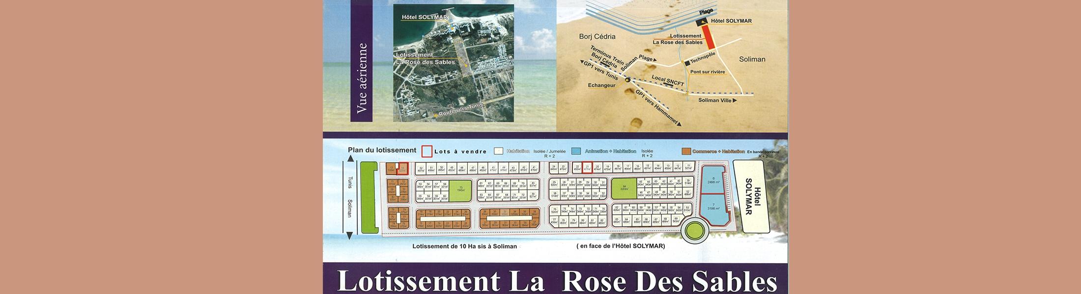 بيع عدد (04) مقاسم مهيئة صالحة للبناء بشاطئ سليمان
