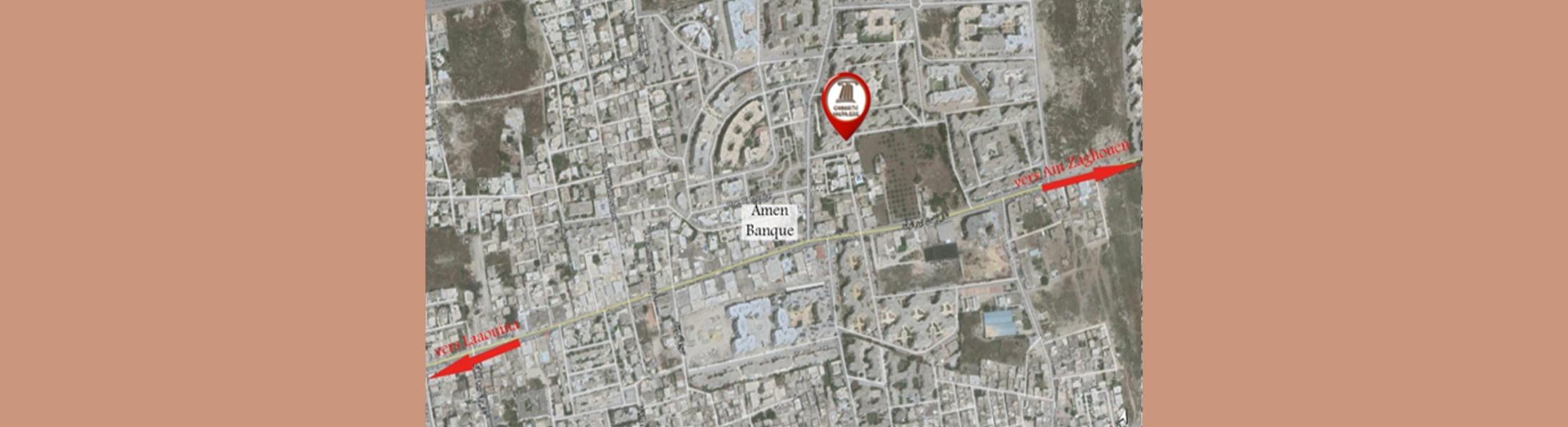 الشقة نرجس 40 كائنة بحي الواحات - العوينة (طلب العروض عدد 07 لسنة 2020)